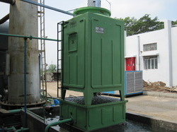 High Performance Draft Cooling Tower
