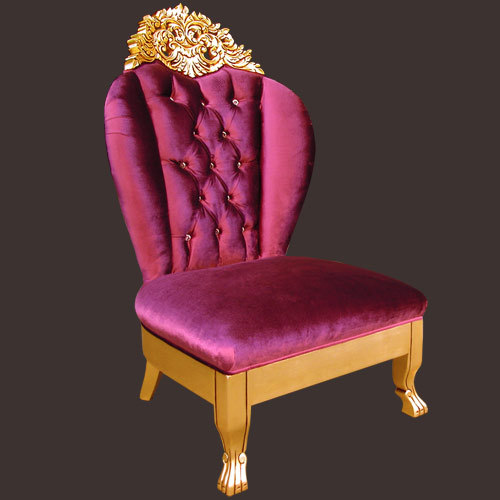 Hand-Carved Chair