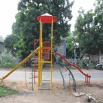 Multi Play System With Wave And Stright Slide
