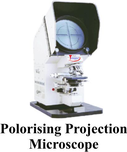Polarising Projection Microscopes