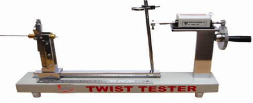 Single Yarn Twist Tester