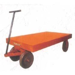 Flat Platform Trolleys with H.D.P.E. Wheel