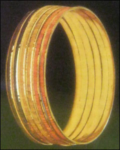 Fancy Attractive Gold Bangles