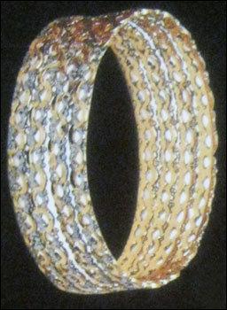 Fancy Designed Gold Bangles