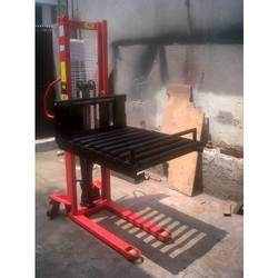 Hand Hydraulic Manual Stacker With (Roller Platform)