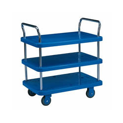 Three Shelves Platform Trolley in  2-Sector
