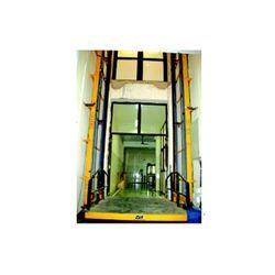 Wall Mounted Hydraulic Platform Stacker