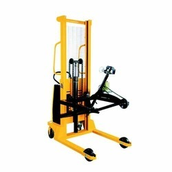 Semi Electric Hydraulic Drum Lifter Cum Tilter Cum Shifter
