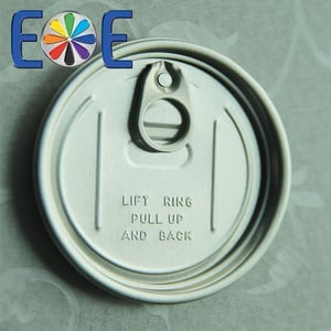 307 Aluminum Can Easy Open End