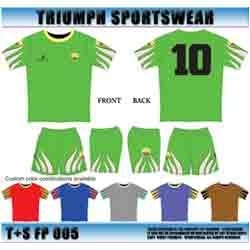 Green And White Sports T-Shirts