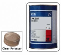 Transparent Polyester Liquid Filler