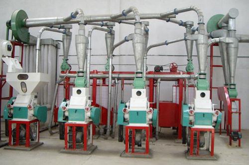 Mini Roller Flour Mill Plant