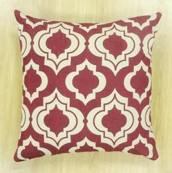 Fancy Screen Printed Cushion Cover