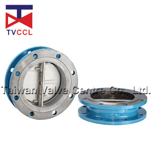 Double Flanged Type Dual Plate Check Valve