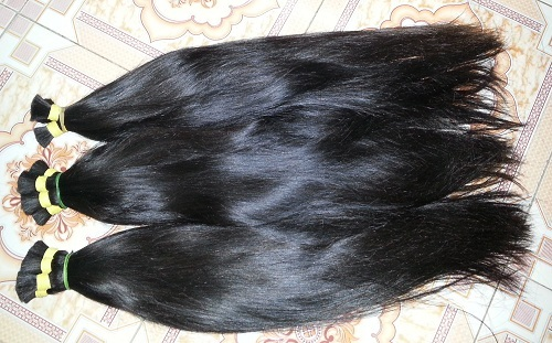 Single Draw Straight Hair