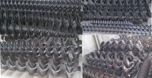 Continues Cold Rolled Conveyor Screw Blades (Flight)