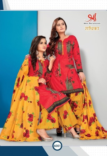 Women Printed Catalog Suits
