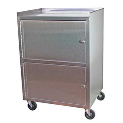 Stainless Steel Tatoo Shop Trolley