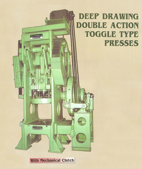 Deep Drawing Double Action Toggle Type Presses