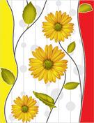 Decorative Flower Design Wall Tiles