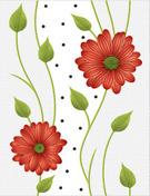 Flower Designer Wall Tiles in   Dist. Rajkot