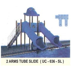 Two Arms Tube Slide