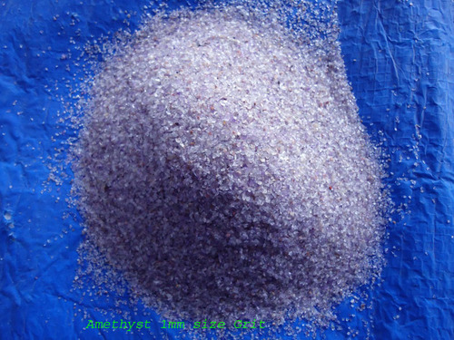 Amethyst Stone Grit And Sand Or Powder
