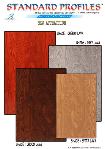 New Shade Lava Series PVC Door