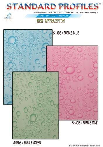 New Shades Bubble Series PVC Door
