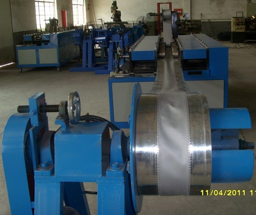 Flexible Duct Connector Forming Machine