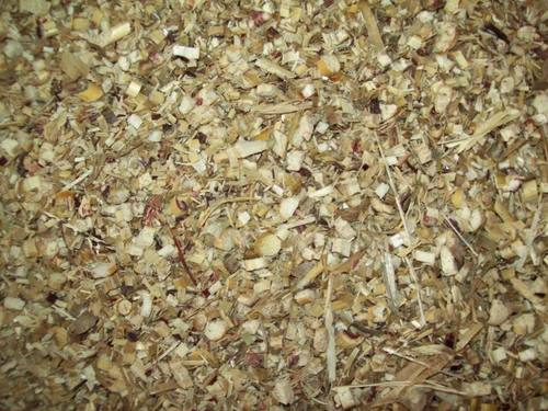 Chopped Dried Maize Hay