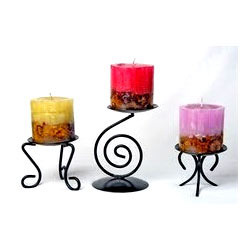 Color Changing Pillar Candle