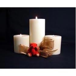 Plain Pillar Candle