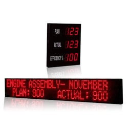 Moving Message Display System