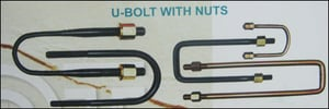 U-Bolts With Nuts