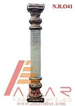 Fiber Crystal Pillars
