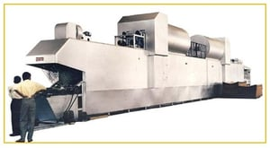 Tin Printing Travelling Oven