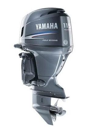 Four Stroke In-Line Outboard Motor (Yamaha F115TXR)