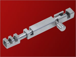 Stainless Steel Square Tower Bolt
