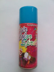 Colorful Hair Spray