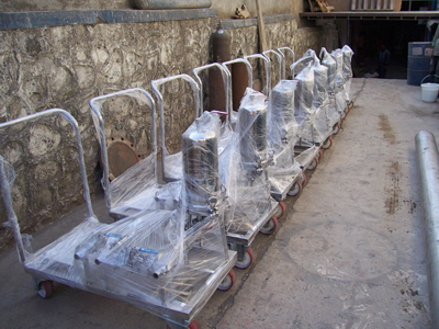 Filtration Trolleys