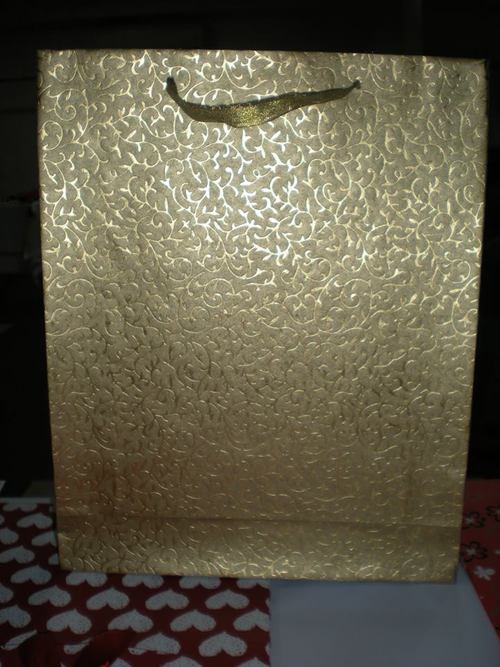 Golden Color Gift Bags