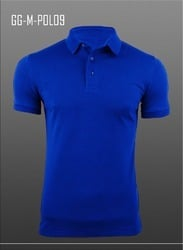 Men's Knitted Airtex Polo Shirt