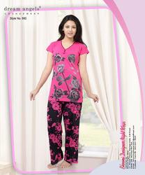 Printed Ladies Night Suit - Bhoomi Nightwear c91fc865d