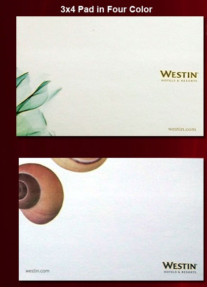 3x3 Sheet Pad In Four Color