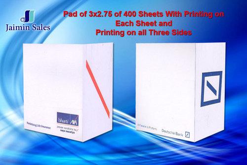 400 Sheets Pads