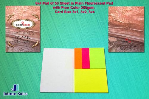 50 Sheet Plain Fluorescent Pad