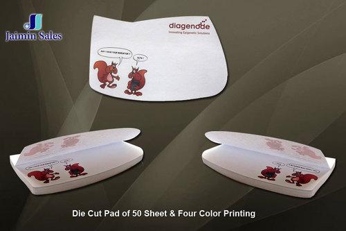 Die Cut 50 Sheets Pads