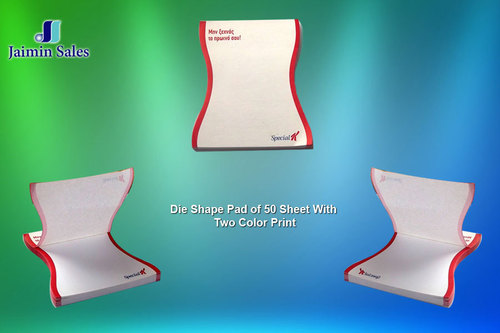 Die Shape 50 Sheets Pads