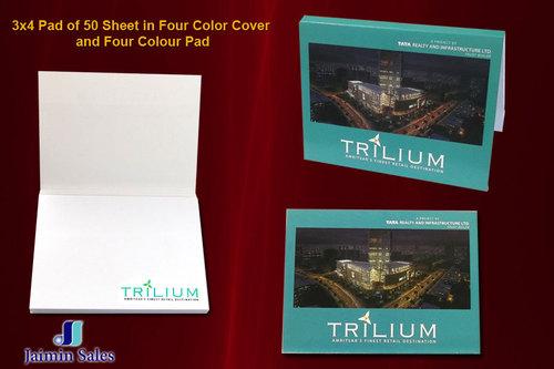 Four Color 50 Sheet Pad